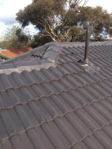 Charcoal roof restoration