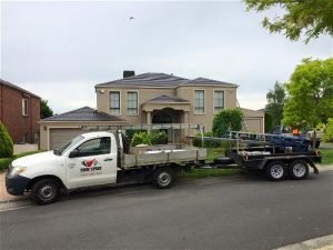 Double strory house after roof restoration with Roof Spray ute