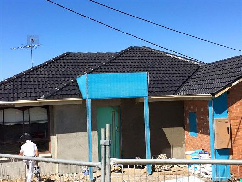 House re roofed after renovation