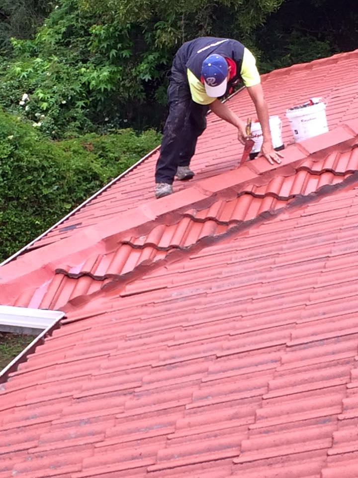 Roof Restoration work in Ringwood